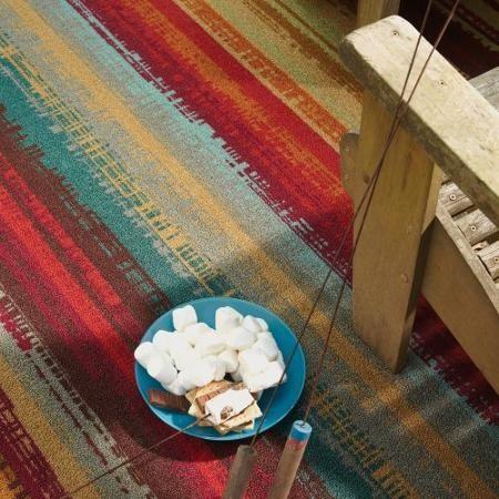 Mohawk Home Avenue Stripe Indoor/Outdoor Nylon Rug, Multi-Colored - Walmart.com
