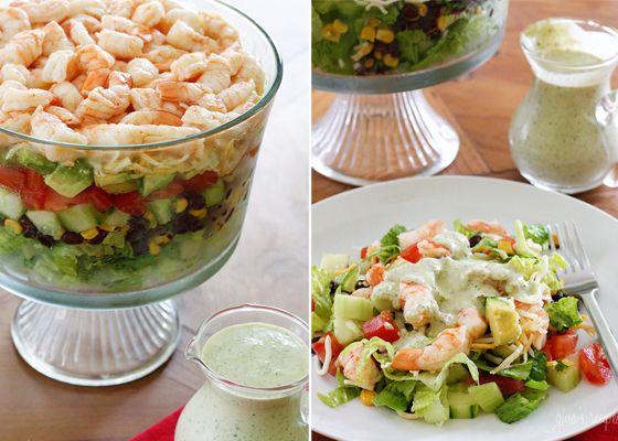 Салат с морепродуктами: рецепты для праздника - cosmo.com.ua