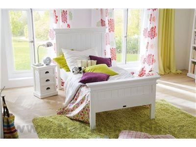 Rustikální postel BSE001-90