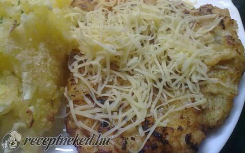 Tejfölös fokhagymás hús recept fotóval