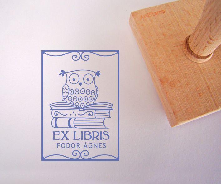 Ex libris pecsétek – ArtiStamp