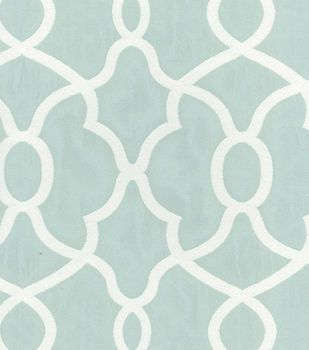 Kelly Ripa Upholstery Fabric-Clearly Cool Spa