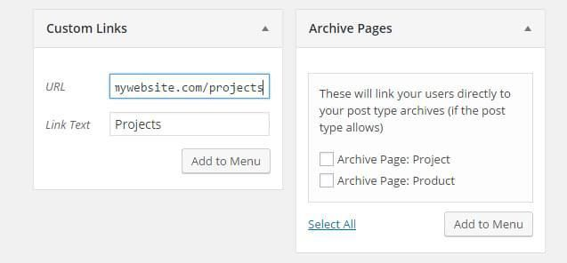 Quick Tip: Adding Archive Pages to the WordPress Menu Builder // #WordPress