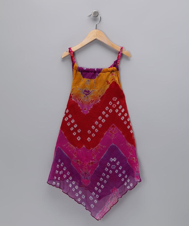 Pink Gypsy Queen Dress - Toddler & Girls