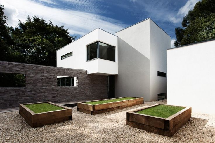 Abbots Way House by AR Design Studio » CONTEMPORIST: Residential Architecture, Idea, Favorite Places, Contemporary Houses, Outdoor, Ar Design, Garden, Design Studios