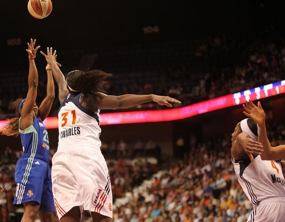 You'll be amazed with what WNBA center Tina Charles did with half of her salary