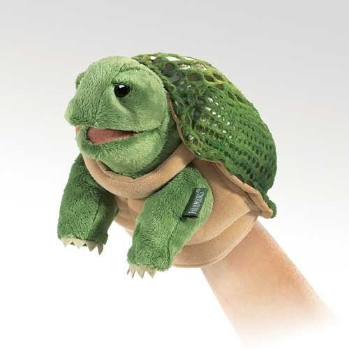 Folkmanis Little Turtle Little Puppet - 2968