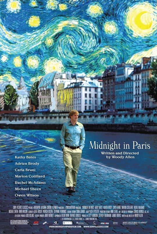 Midnight in Paris - love this movie. Have watched it several times now. #film