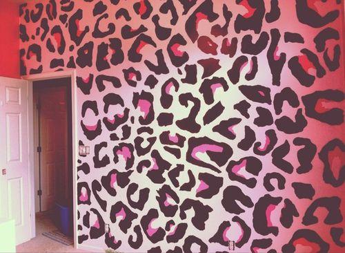 Cheetah Print Girls Room