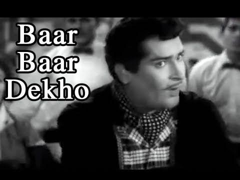 Baar Baar Dekho - China Town - Shammi Kapoor, Shakila & Keshto Mukherjee - YouTube