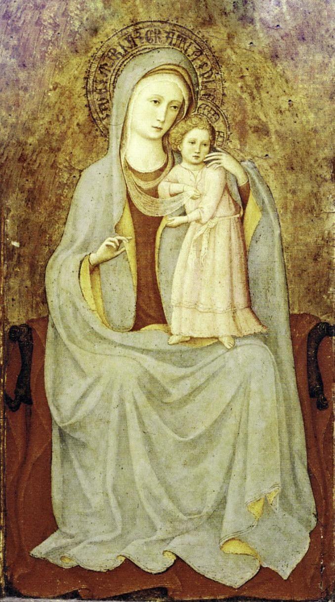 Fra Angelico - Madonna con Bambino
