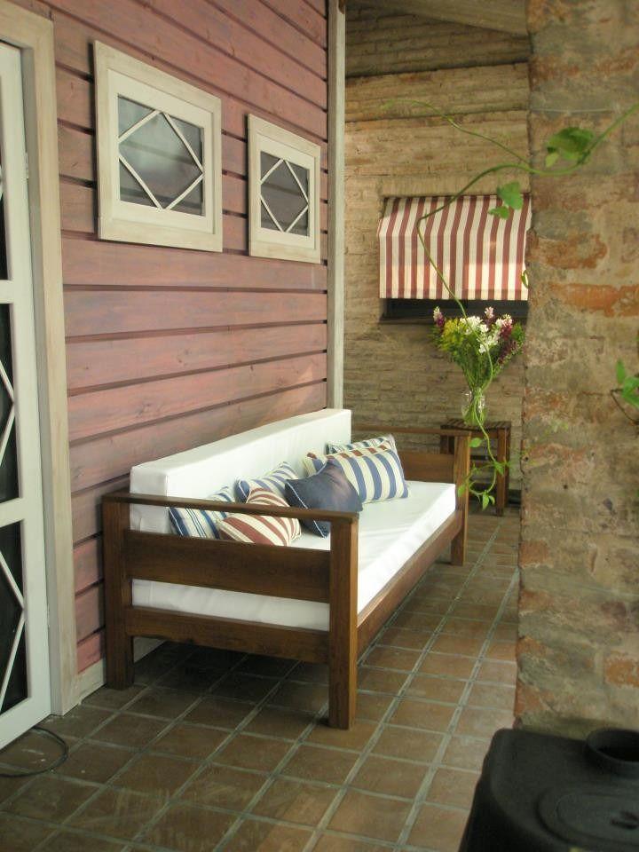 sillones de eucalipto modelo cubo para interior o exterior sofa pinterest cubos sillones y modelado