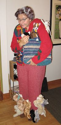 Crazy Old Cat Lady- halloween costume I should do this one year. Im not even a cat person but this is hilarious!