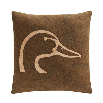 Ducks Unlimited Throw Pillow - Brown