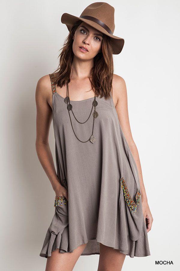 Two Pocket Tank Dress