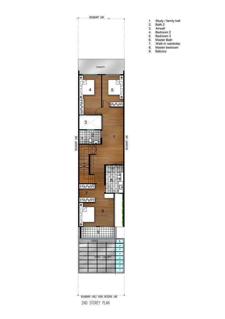 Image 13 of 14 from gallery of Airwell House / ADX Architects. Floor Plan