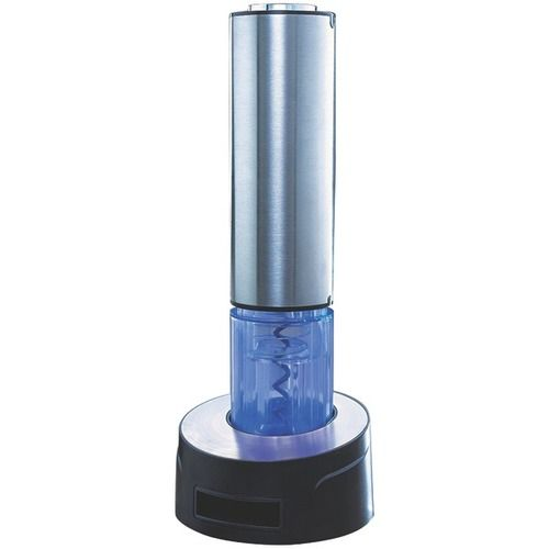 Wine Enthusiast(R) 4951051 Electric Blue Automatic Wine Opener