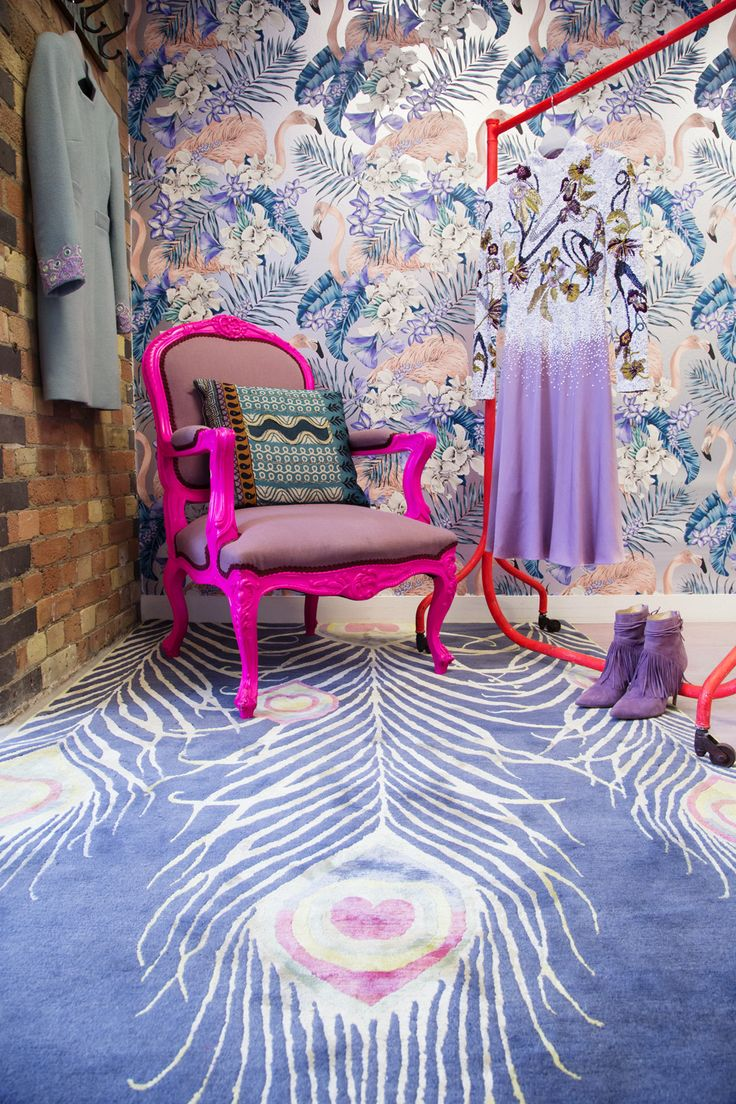 Try on the collection from the comfort of the flamingo room. Matthew Williamson's new showroom is now open - book an appointment with the personal shopper.