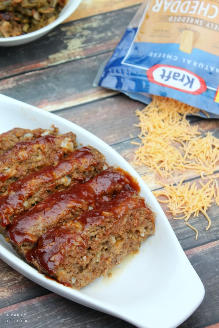 Tired of the same old boring meatloaf? Try this Cheesy Meatloaf Recipe instead!