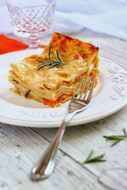 MIELERICOTTA: Lasagne alla zucca