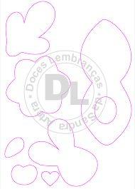 Картинки по запросу moldes porta bombom