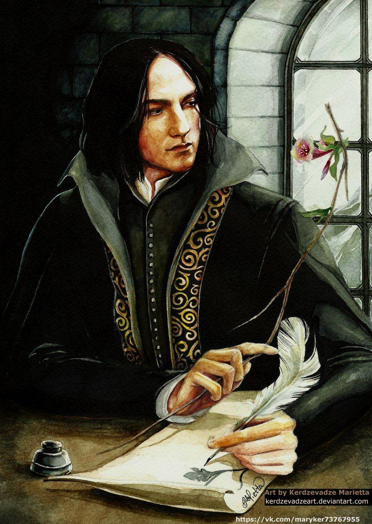 Severus Snape by KerdzevadzeART.deviantart.com on @DeviantArt