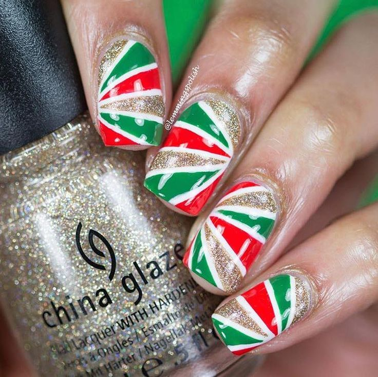 750 best acrylic nail art designs images on pinterest nail art standing out this christmas season in easy explore most unusual and unique christmas nail art ideas and add a new dimension to you styling this festive prinsesfo Choice Image