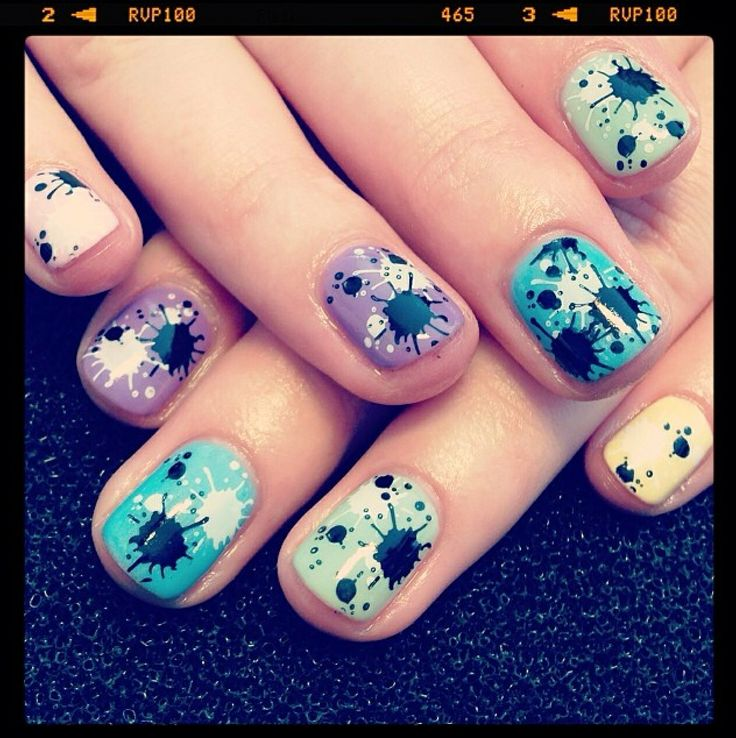 30 best Nails by Helen Boxall images on Pinterest | Cnd shellac ...