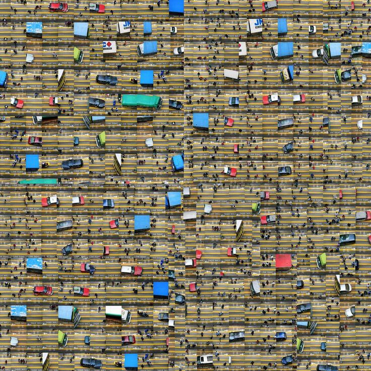 Traffic Chaos - Nancy Lee - Tableaux, photographie, art photographique en ligne chez LUMAS