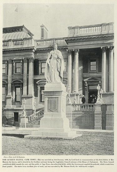 The Queen's Statue, Cape Town   South Africa by The National Archives UK