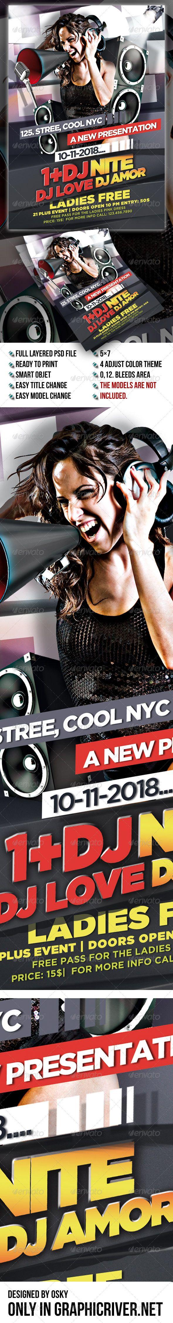 210 best Dance Flyer / Party Flyer / Print Templates / PSD images ...