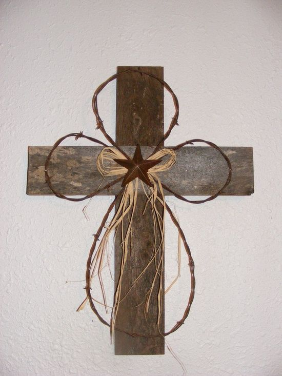 Rustic Wood Cross. $17.50, via | http://diyaiden.blogspot.com