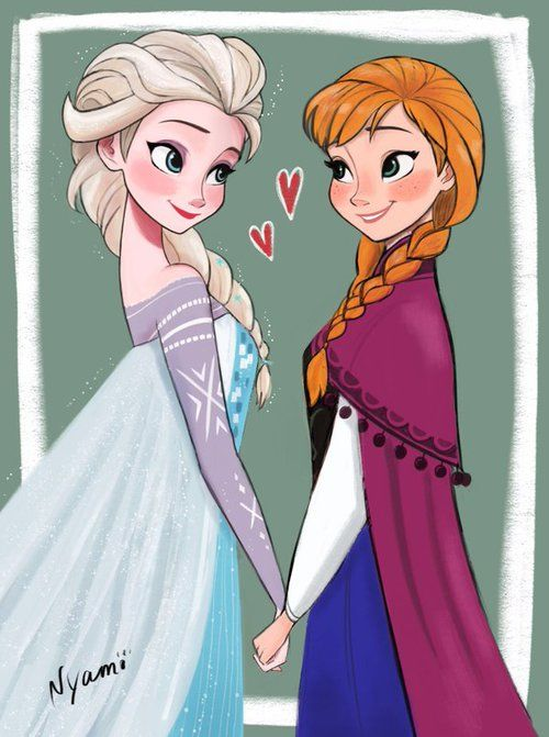 esa sketches frozen anna and sisters - photo #42