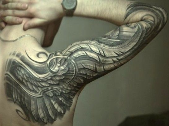 #Wings #tattoo #wingstattoo