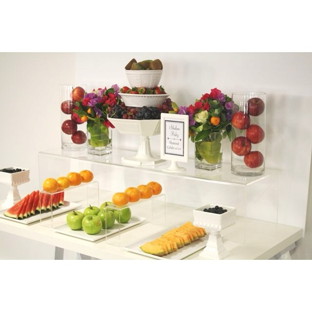 Fruit buffet - have everything slices/cut