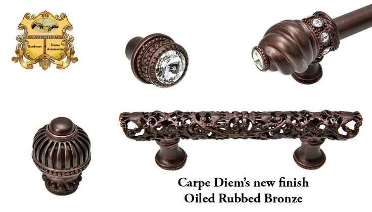 Carpe Diem's new Oiled Rubbed Bronze, available in every collection.
