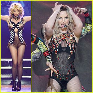 Britney Spears: 'Piece of Me' Vegas Show Photos & Video! | Britney Spears, Video : Just Jared