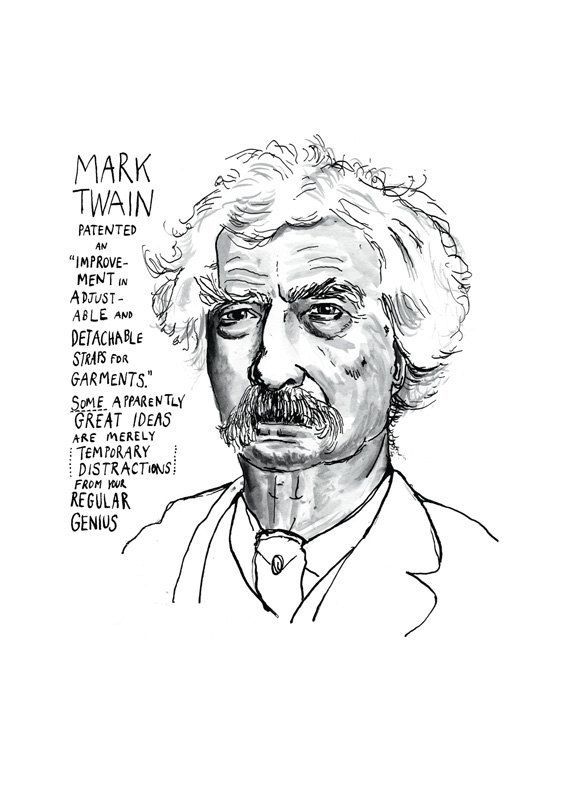 Mark Twain print by StandardDesigns on Etsy, £12.50