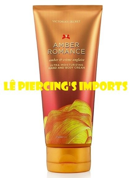 Creme Ultra Hidratante Para Mãos e Corpo Amber Romance Hand And Body Cream 200ml