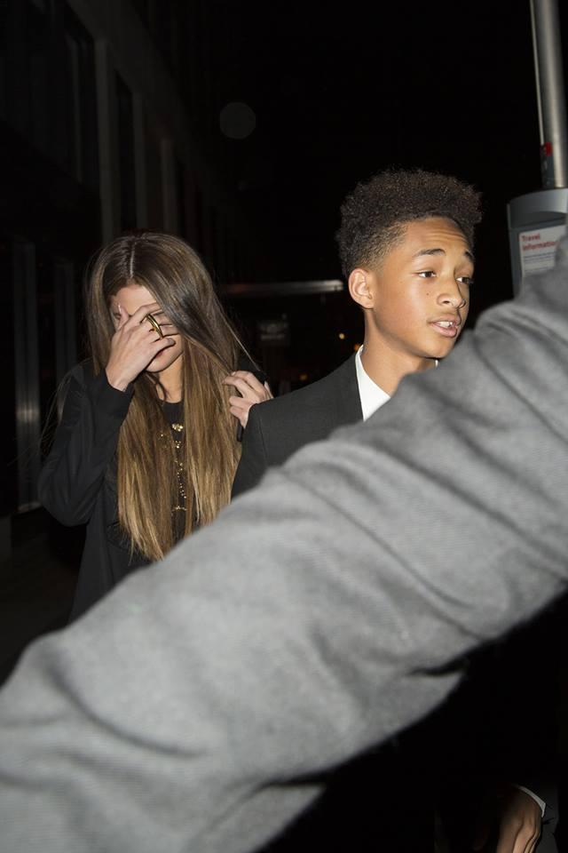 Selena Gomez Saliendo a cenar con Jaden Smith en Londres (Ayer)