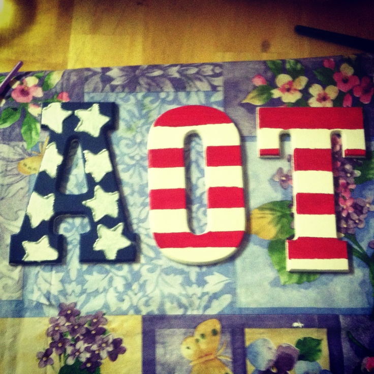 America AOT letters!