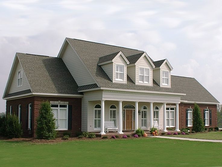 073h 0059 two story southern country house plan offers relaxed living