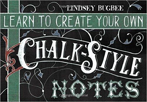 Learn to Create Your Own Chalk Style Notes: Includes White Gel Pens, Chalk Pencils, Black Paper Note Cards and Postcards and an 32 page Instruction Book: Lindsey Bugbee: 9781631061226: Amazon.com: Books