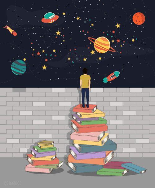 Gifs que expressam o amor pelos livros | Loucura Por Leituras