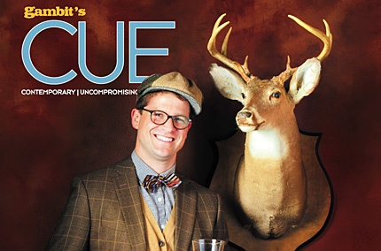 CUE: New Orleans Men Style Awards; Building a home bar; Holiday shopping ideas; and more
