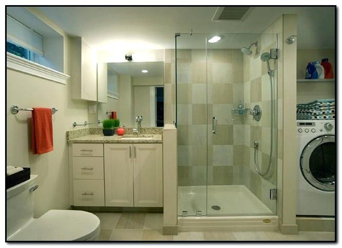 Basement Shower Ideas Basement Bathroom Laundry Room Ideas Basement Laundry Room Bathroom Laundry In Bathroom Basement Laundry Room