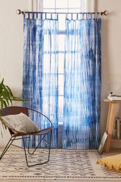 Magical Thinking Dye Streak Curtain - Urban Outfitters