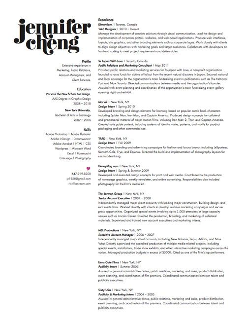 Graphic Design Resume Sample   Writing Guide   RG clinicalneuropsychology us