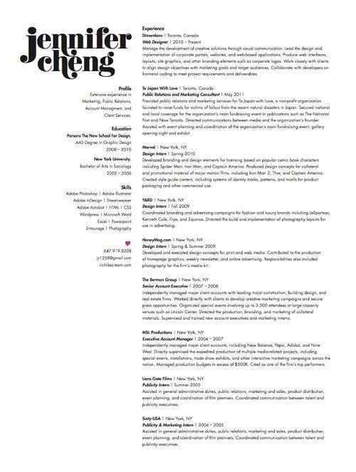 81 best Resume Ideas images on Pinterest Resume ideas, Cv - best designer resumes