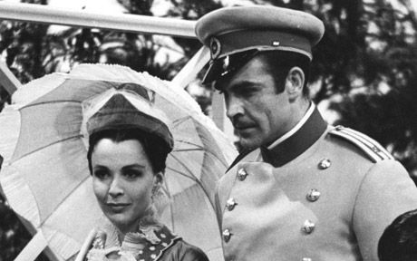 Before he was Bond, Sean Connery appeared in a 1961 TV movie on BBC called 'Anna Karenina' as the Russian count Alexis Vronsky. Claire Bloom played the title role (pictured here) and is best known for her performance as Queen Mary in 'The King's Speech' (2010) and Hera in 'Clash of the Titans' (1983).